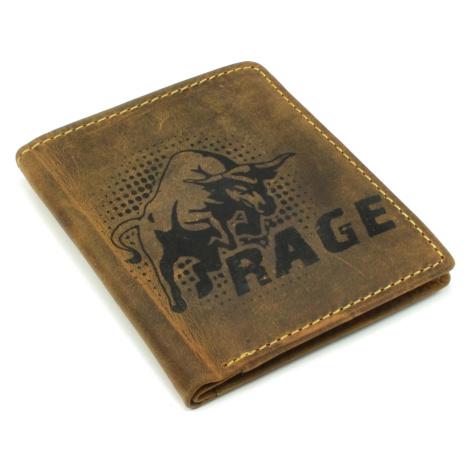 Kožená peněženka pánská malá Wild
