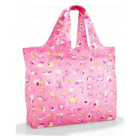 Skládací taška Reisenthel Mini Maxi Beachbag kids Abc friends pink