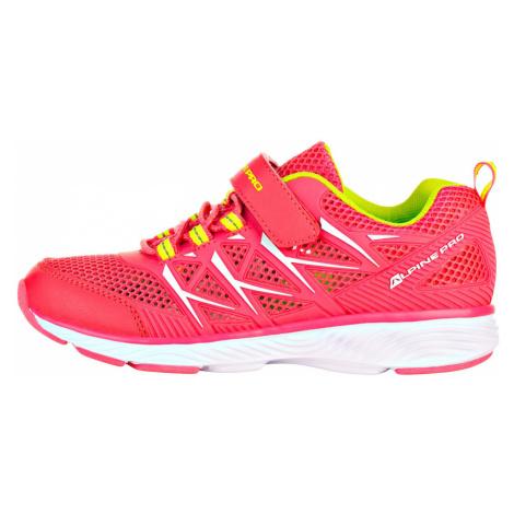 ALPINE PRO AVICESE Dětská sportovní obuv KBTR219452 růžová