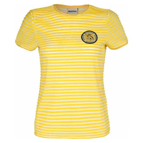 Harry Potter Hufflepuff Dámské tričko žlutá/bílá
