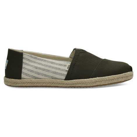 Tarmac Ivy League Stripes Men Alpargata Classics Toms