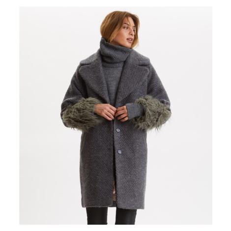 Kabát Odd Molly Rare & Free Coat - Šedá