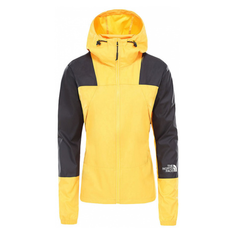 The North Face W Mountain Light Windshell Jacket Yellow žluté NF0A3S4A70M