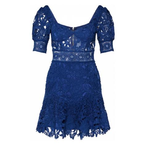 Love Triangle Koktejlové šaty 'Aurora Skies Dress' námořnická modř