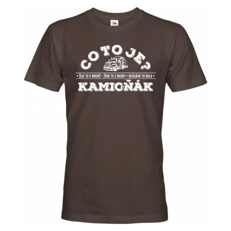 Pánské tričko pro řidiče kamionu / kamioňáky - ideální dárek BezvaTriko
