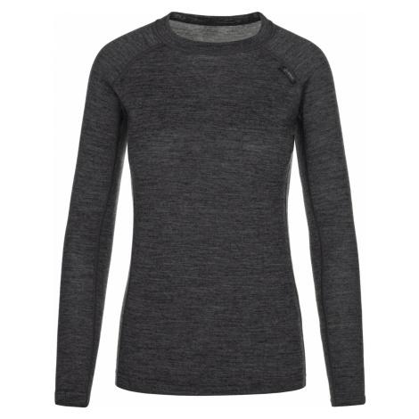 KILPI Dámské funkční merino triko PATTON-W NL0042KIDGY Tmavě šedá
