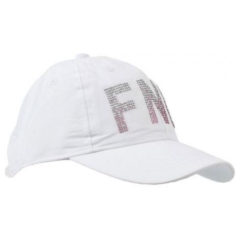Finmark LETNÍ DĚTSKÁ ČEPICE bílá - Letní dětská sportovní čepice