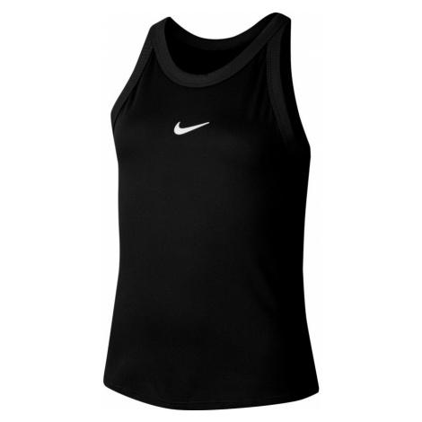 Dívčí tílko Nike Court Dri-Fit Black,