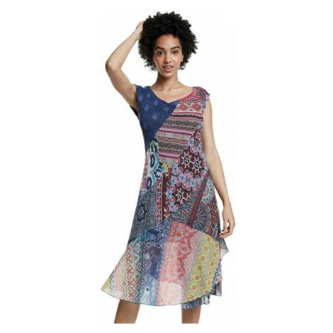 Desigual Dámské šaty Vest Monica Tutti Fruti 20SWVK90