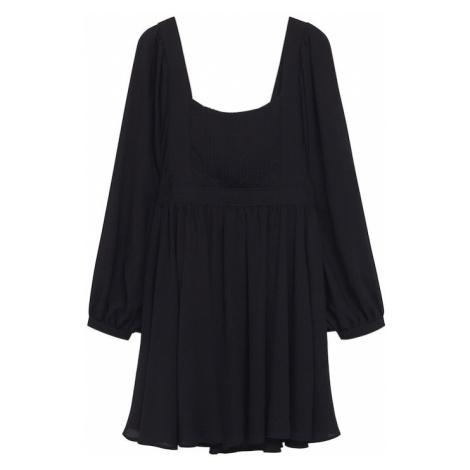 MANGO Šaty 'BERTI' černá