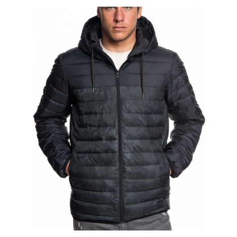 Bunda Quiksilver Scaly Hood Block black