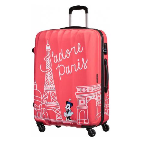 American Tourister Cestovní kufr Disney Legends Spinner 19C 88 l - Take Me Away Minnie Paris