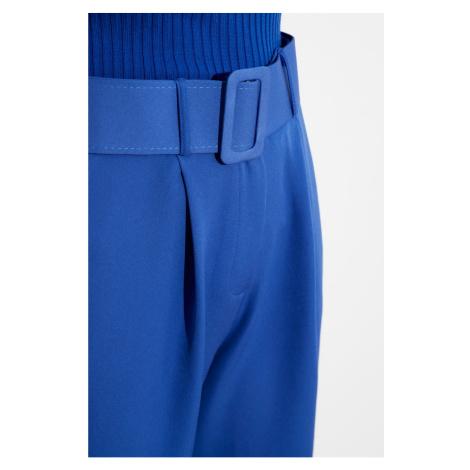 Trendyol Indigo Belt Detailed Pants