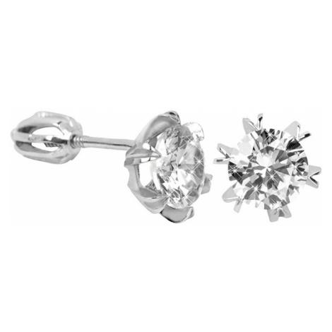 Brilio Silver Stříbrné náušnice s krystalem 001 04 - 1,92 g