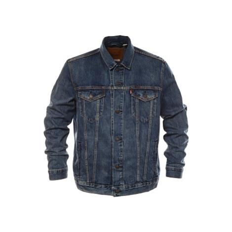 Džínová bunda Levi´s® The Trucker pánská modrá