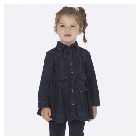 Riflové šaty MAYORAL 4933 | modrá