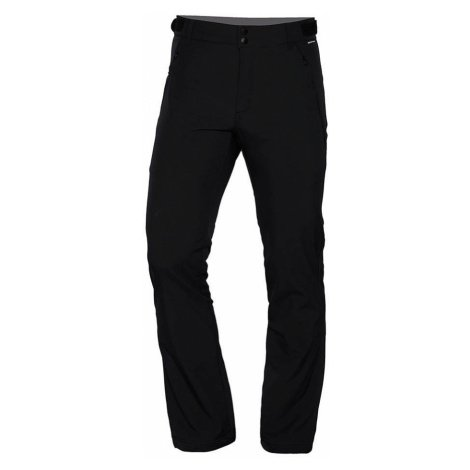 NORTHFINDER VINSTOR Pánské softshellové kalhoty 3L NO-3680OR269 černá