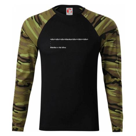 Alenka v říši divů - Camouflage LS