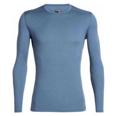 Icebreaker OASIS LS CREWE tmavě modrá - Funkční triko z merina Icebreaker Merino