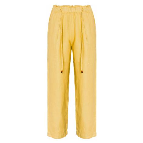 Kalhoty Deha EXPRESSION Żółty