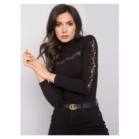 OCH BELLA Ladies´ black turtleneck sweater Fashionhunters