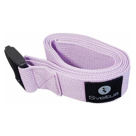 Sveltus Yoga belt Fialová
