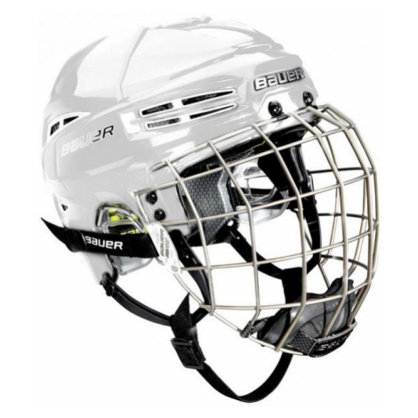Bauer RE-AKT 100 YTH COMBO bílá - Dětská hokejová helma s mřížkou