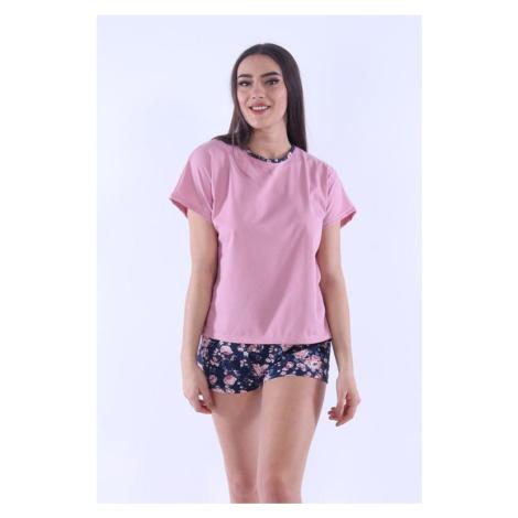Dámské pyžamo Lada 5 růžové Nelly