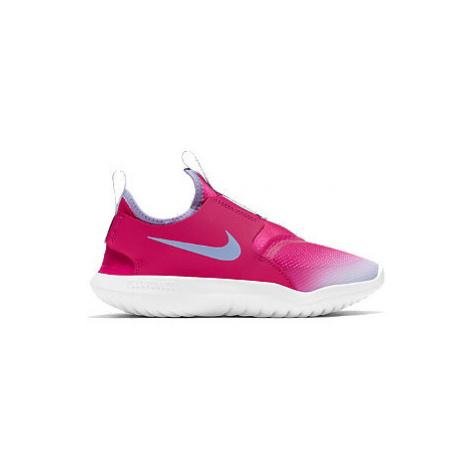 Růžové slip-on tenisky Nike Flex Runner