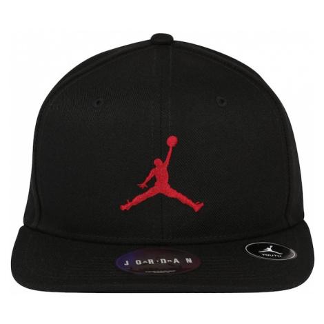 Jordan Klobouk černá / červená / bílá