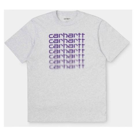 TRIKO CARHARTT Fading Script S/S - šedá Carhartt WIP