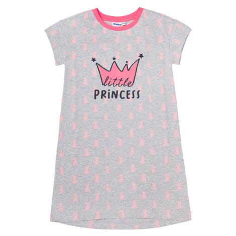 Dívčí noční košile Winkiki WJG01743, světle šedá