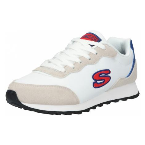 SKECHERS Tenisky 'Og' bílá / béžová / červená / modrá