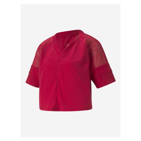 Fashion Luxe Crop top Puma Červená