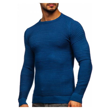 Modrý pánský svetr Bolf 4608