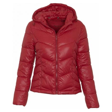 Pepe Jeans dámská tmavě červená bunda Imani