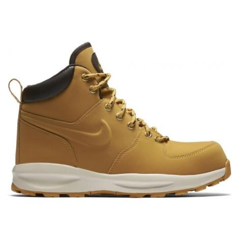 Nike MANOA LEA LEATHER béžová - Pánská zimní obuv