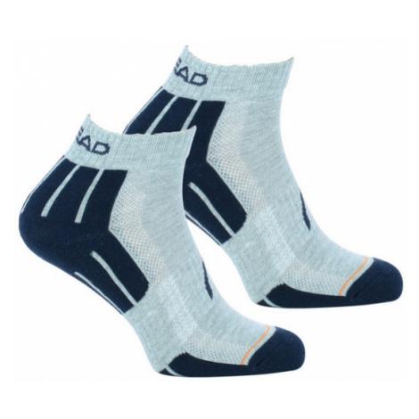 2PACK ponožky HEAD šedé (741018001 650) M