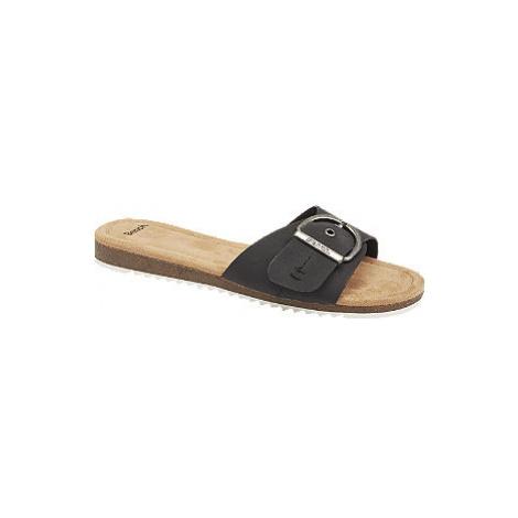 Černé pantofle Bench
