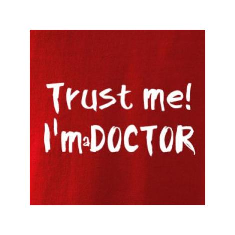 Trust me I´m a Doctor / Věř mi jsem Doctor - Mikina dámská Kangaroo s kapucí