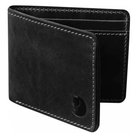 Kožená černá peněženka Övik Fjällräven