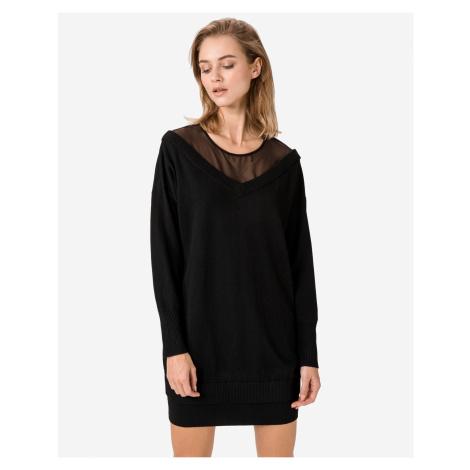 Guess černé šaty Crystal