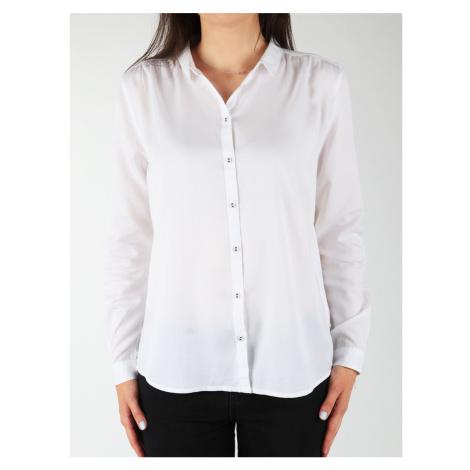 Wrangler L/S Relaxed Shirt W5190BD12 Bílá