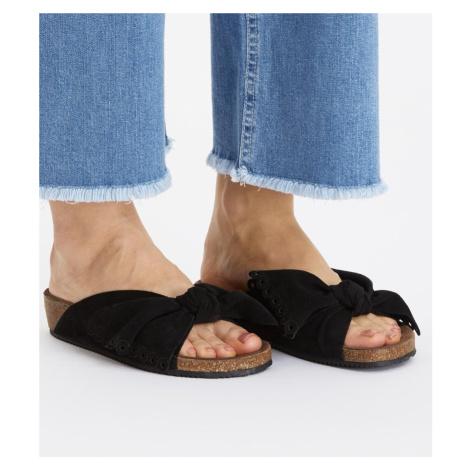 Pantofle Odd Molly Take A Bow Slipper - Černá
