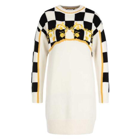 Vlněné smetanové šaty - ESCADA