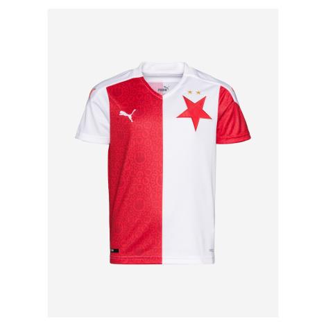 SK Slavia Home Replica Jr Triko dětské Puma Bílá