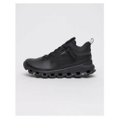On Running Cloud Hi Waterproof All Black