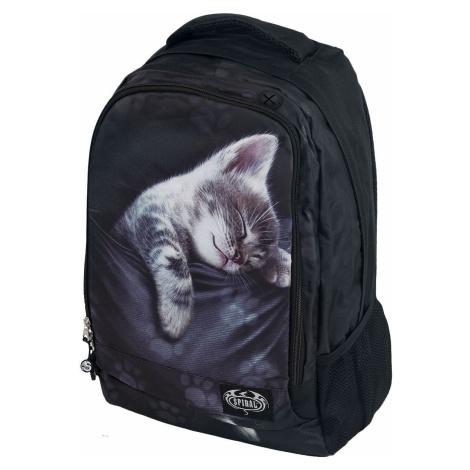 Spiral Pocket Kitten Batoh černá