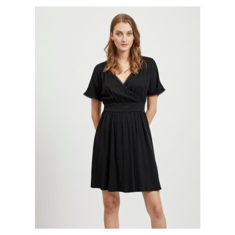 Černé šaty VILA Suvita