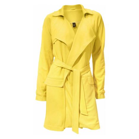 HEINE - BC DÁMSKÝ ŽERZEJOVÝ KABÁT HEINE -BC, kabát žlutý